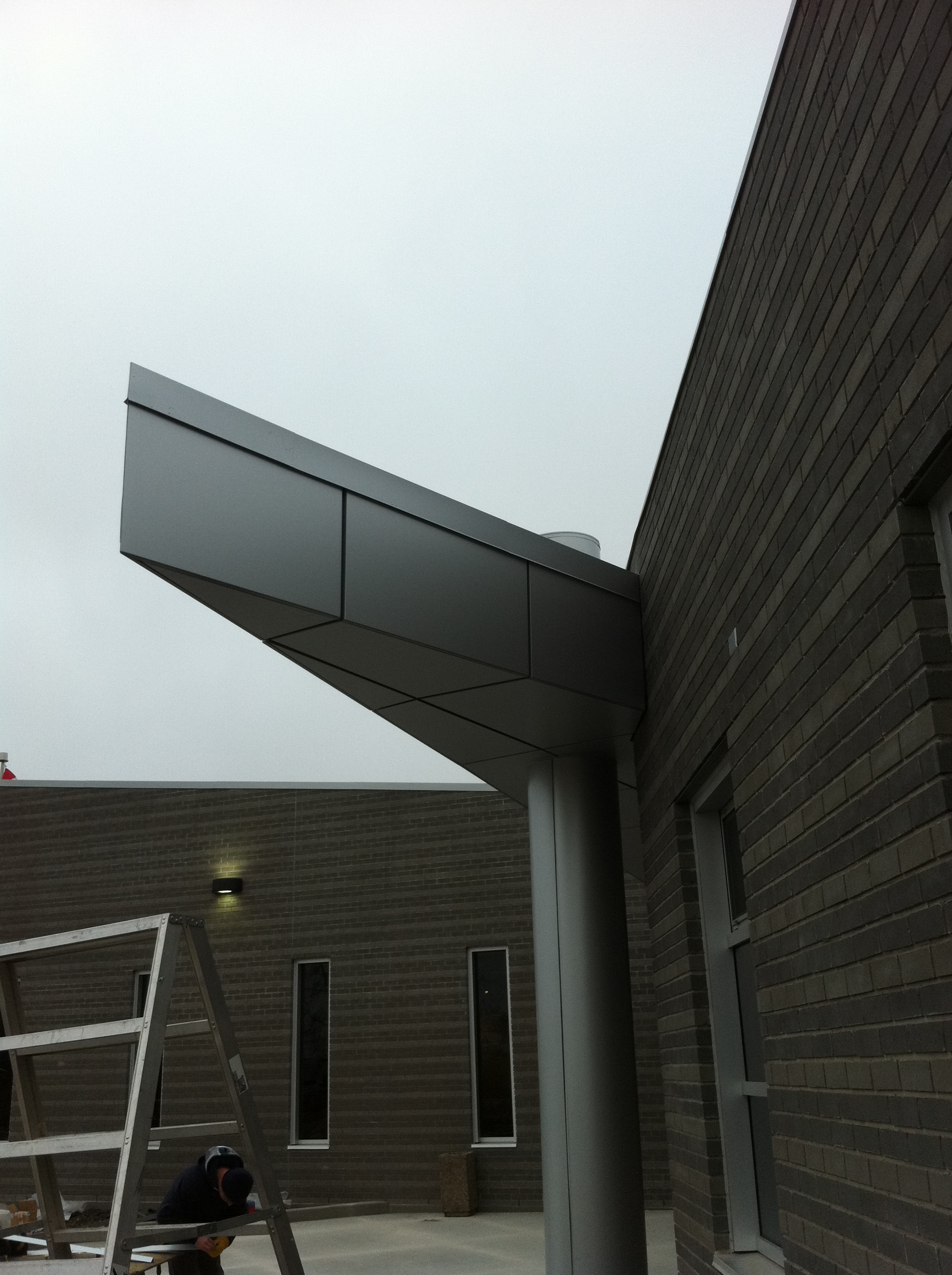 Gpcs Acm Panel Canopy Georges Roofing